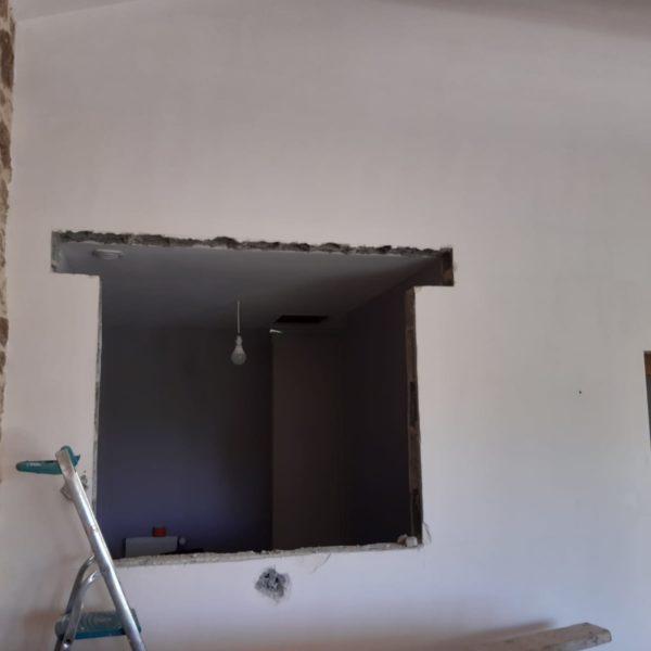 Ouverture mur porteur